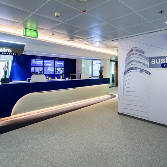 Austro Control Bürobeleuchtung