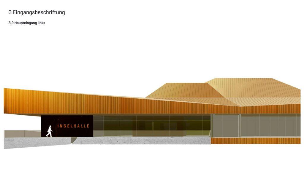 Visualisierung der Inselhalle