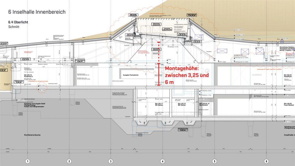 Lageplan des Innenbereiches